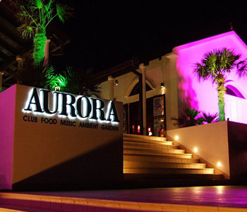 night club Aurora in Primosten