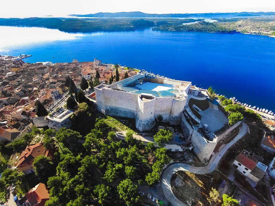 St. Michael's Fortress is one of four Šibenik's fortresses
