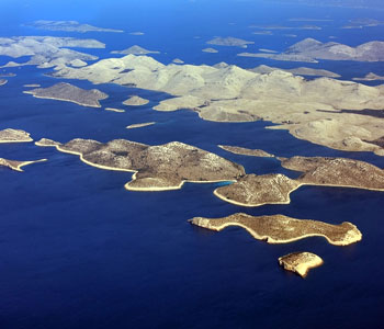 National park Kornati has 89 islands